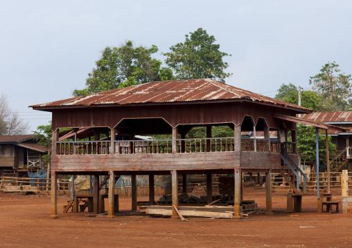 Traditional house, Katou, Laos