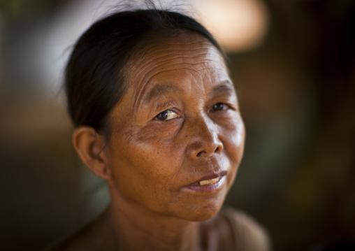 Brown woman, Katou, Laos