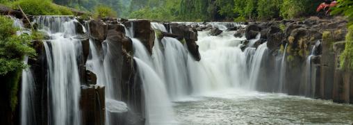 Kouang si waterfalls, Boloven, Laos