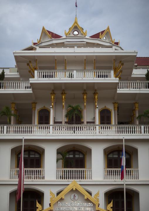 Champassak palace hotel, Pakse, Laos