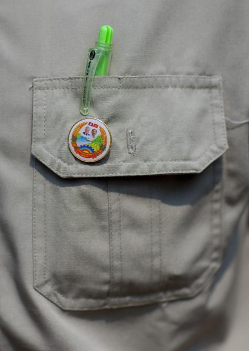 Lao communist badge, Houei xay, Laos