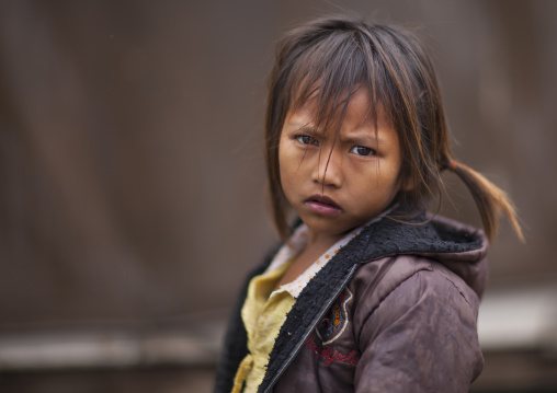 Khmu minority girl, Xieng khouang, Laos