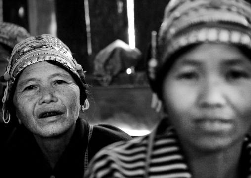 Akha minority women, Ban ta mi, Laos