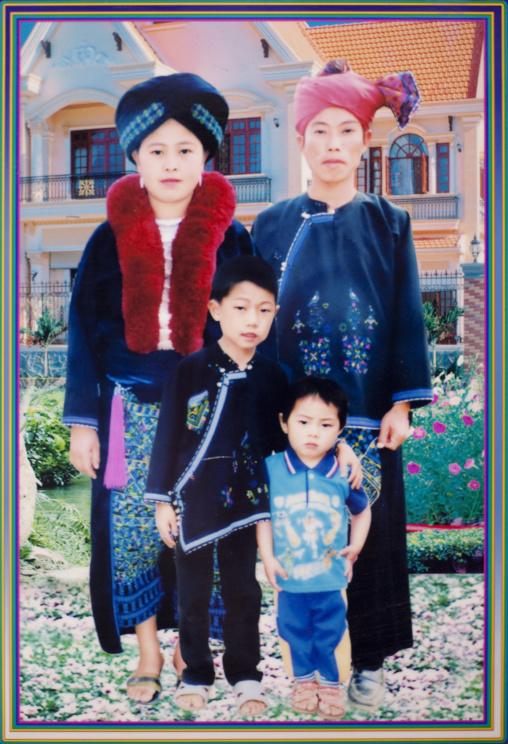 Yao minority picture, Ban xay leck, Laos