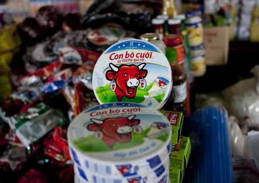 Vache qui rit cheese, Don khon, Laos