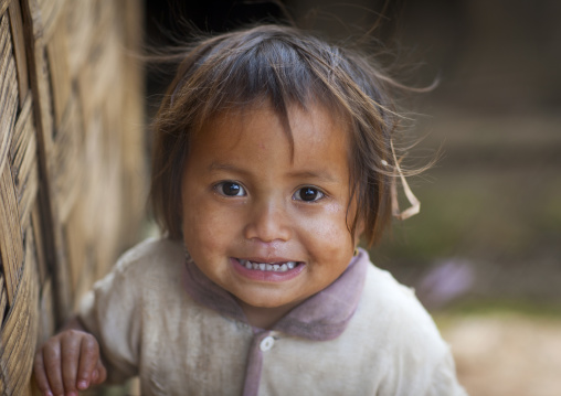 Hmong minority kid, Luang prabang, Laos