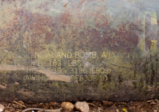 American bomb, Phonsavan, Laos