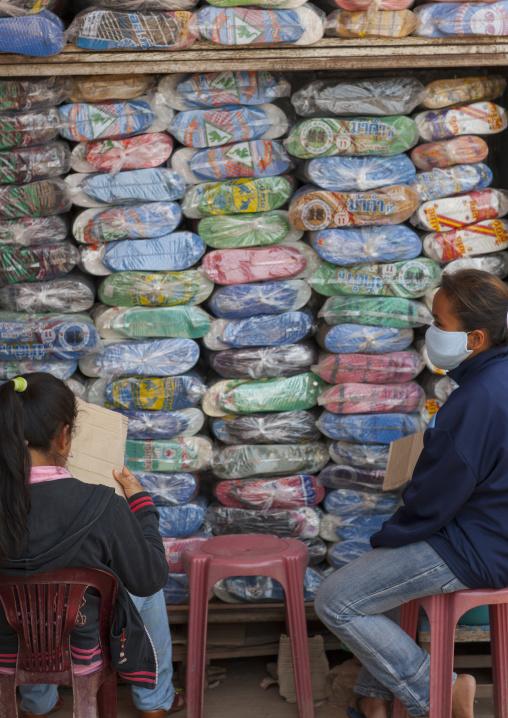 Clothes shop, Vientiane, Laos