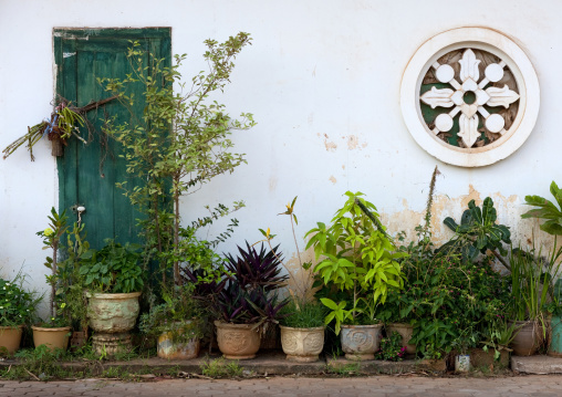 Old french colonial house, Savannakhet, Laos