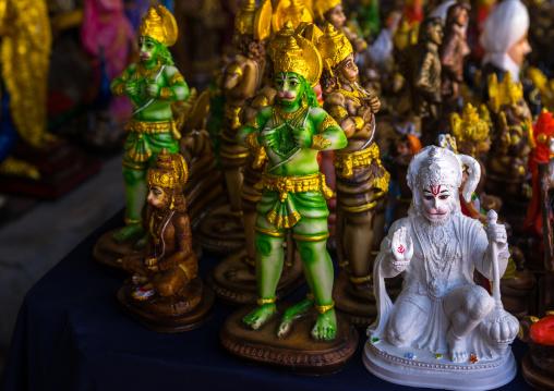 Statues Of Shiva Hindu Gods For Sale In A Shop Near In Batu Caves, Southeast Asia, Kuala Lumpur, Malaysia