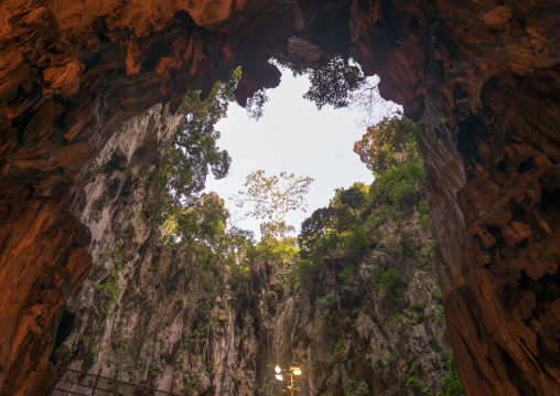 Holy Hindu Batu Caves, Southeast Asia, Kuala Lumpur, Malaysia