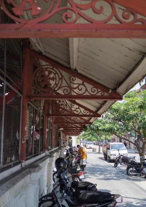Old Colonial Market Sunshade, Penang Island, George Town, Malaysia