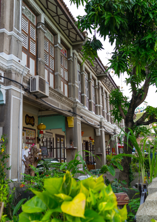 Old Colonial House In The Unesco World Heritage Zone, Penang Island, George Town, Malaysia