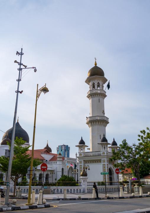 Kaptian Kling Mosque At Lebuh Pitt, Penang Island, George Town, Malaysia
