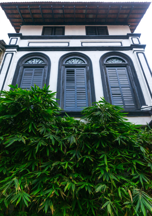 Old Colonial House In The Unesco World Heritage Zone, Perak State, Ipoh, Malaysia