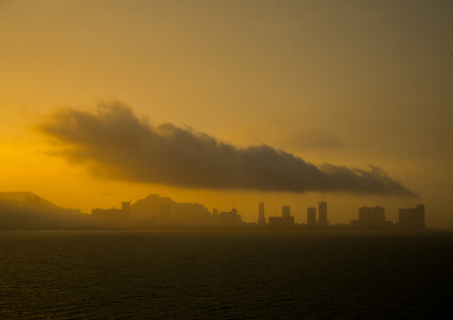 Big Cloud Over The City, Penang Island, George Town, Malaysia