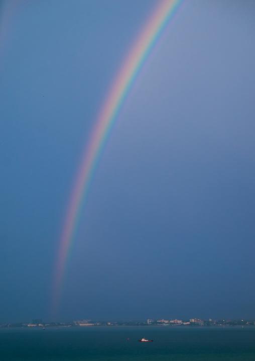 Rainbow On The Sea, Penang Island, George Town, Malaysia