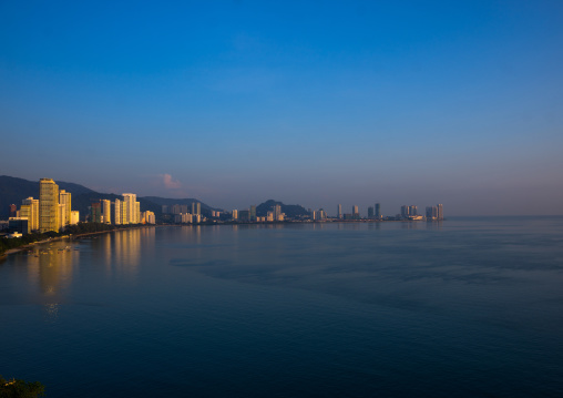 Elevated View Of The City, Penang Island, George Town, Malaysia