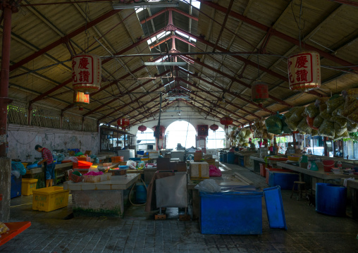 Central Market Hall Stall, Penang Island, George Town, Malaysia