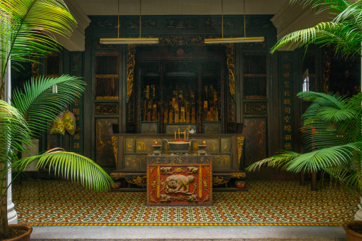 Chinese Temple, Penang Island, George Town, Malaysia