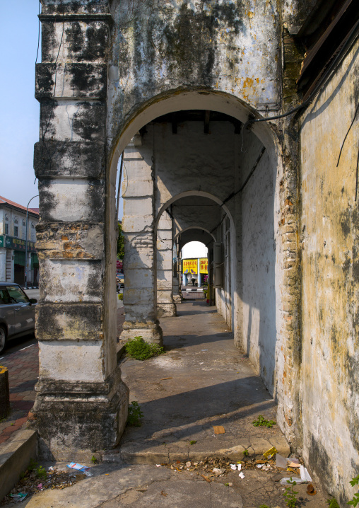 Old Arcades, George Town, Penang, Malaysia