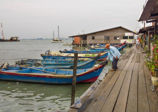 The Weld Quay Clan Jetties, George Town, Penang Island, Malaysia