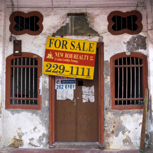 Old Colonial House, George Town, Penang, Malaysia