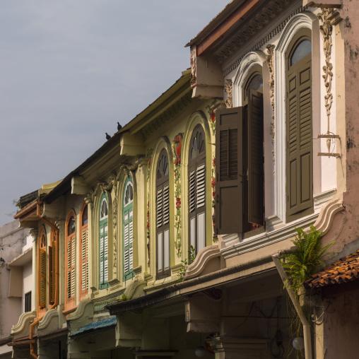 Old Colonial Window, Malacca, Malaysia