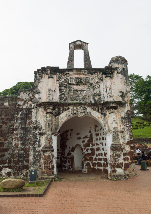 The Ruins Of St Paul Church, Malacca, Malaysia