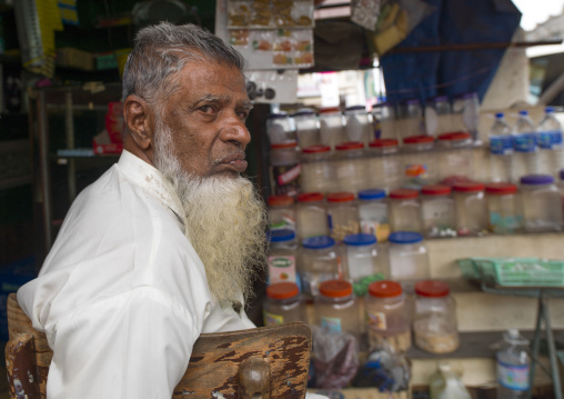 Old Man With White Beard, George Town, Penang, Malaysia