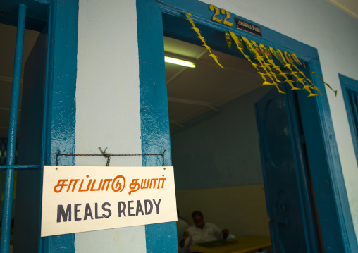 Meals Ready Sign In A Restaurant, George Town, Penang, Malaysia