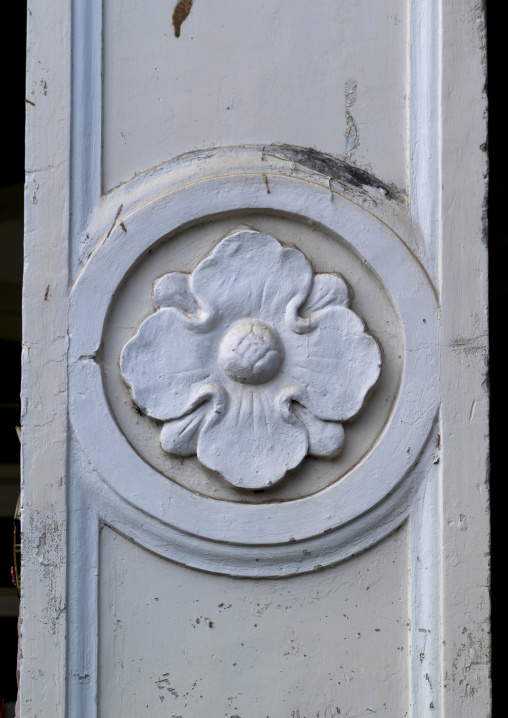 Decoration On A Door, George Town, Penang, Malaysia