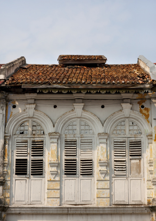 Old Colonial Window, George Town, Penang, Malaysia