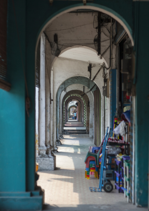 Old Colonial Arcades, George Town, Penang, Malaysia