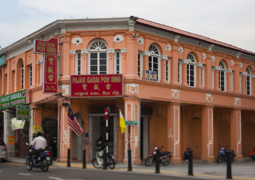 Old Colonial Building, George Town, Penang, Malaysia