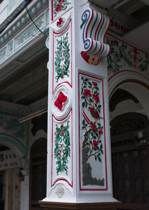 Decorated Column, George Town, Penang, Malaysia