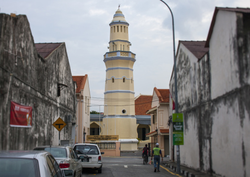 Melayu Lebuh Acheh Mosque, George Town, Penang, Malaysia