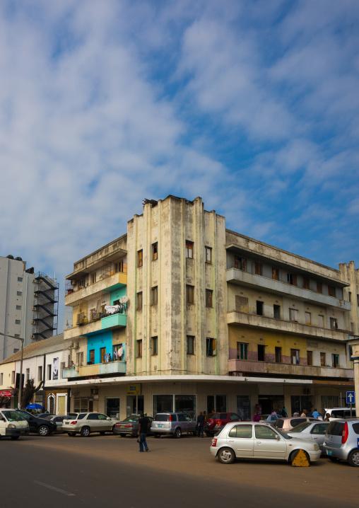 Old Portuguese Colonial Building, Maputo, Mozambique