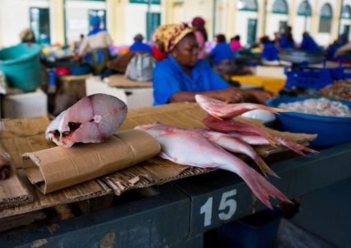 Fish Sold In The Mercado Central, Maputo, Mozambique