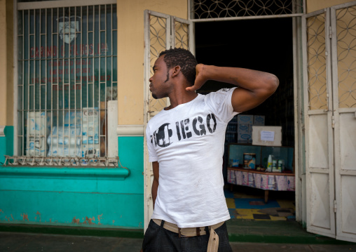 Man In The Street, Maputo, Mozambique