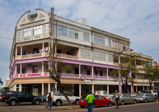 Old Portuguese Colonial Building, Maputo, Maputo City, Mozambique