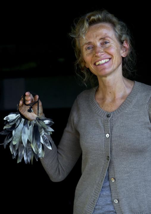 Jewels Creator Astrid Sulger, Maputo, Mozambique