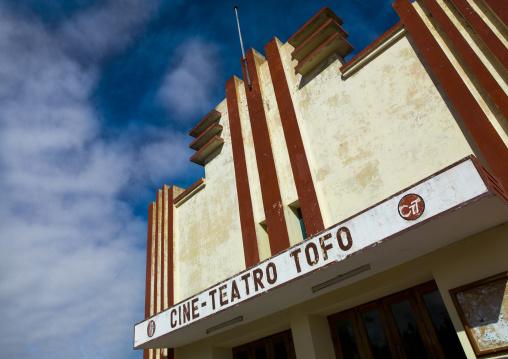 Old Tofo Movie Teathre, Inhambane, Inhambane Province, Mozambique
