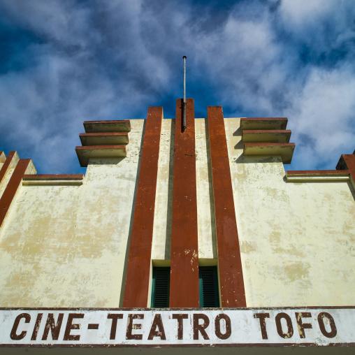 Old Tofo Movie Teathre, Inhambane, Mozambique