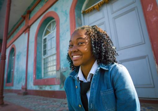 Young Smiling Woman, Inhambane, Mozambique