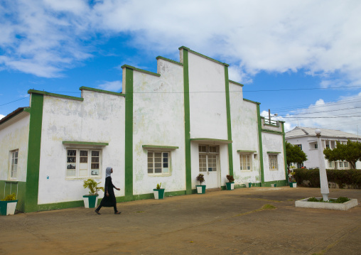 The Old Clube Ferroviaro, Inhambane, Mozambique