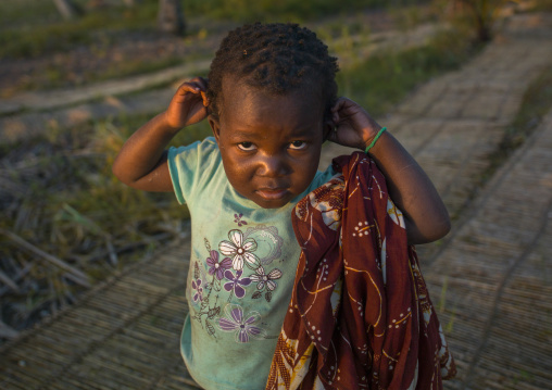 Little Kid In The Country, Inhambane, Mozambique