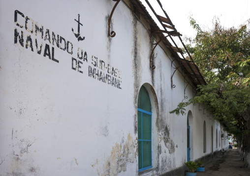 Old Naval Building, Inhambane, Mozambique