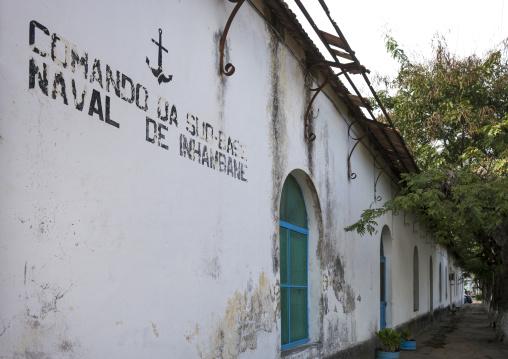 Old Naval Building, Inhambane, Inhambane Province, Mozambique