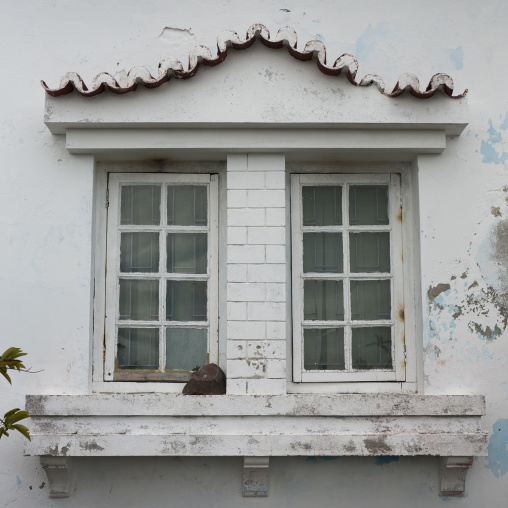 Old Portuguese Colonial Window, Inhambane, Mozambique